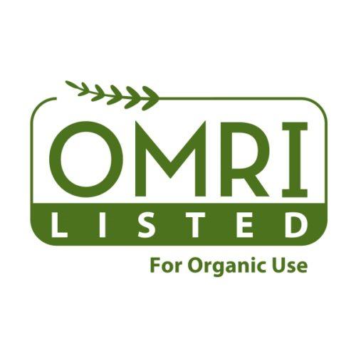 OMRI certified